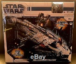 Star Wars Legacy Collection Millennium Falcon Electronic Vehicle New 2.5' Feet
