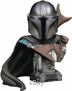 Star Wars Legends in 3D Mandalorian 12 Scale Bust PREORDER FREE US SHIPPING