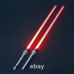 Star Wars Lightsaber Darth Maul Cosplay Silver Metal Red Light Replica Props