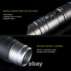 Star Wars Lightsaber Replica Heavy Dueling Rechargeable Metal Handle 11 Colors