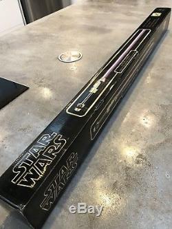 Star Wars Mace Windu ULTRA RARE 2004! Lightsaber Master Replicas FX SW-206