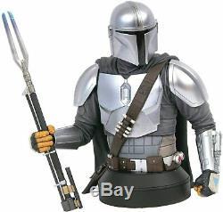 Star Wars Mandalorian Mk3 16 Scale Mini Bust San Diego Comic Con Exclusive