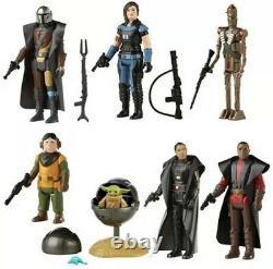 Star Wars Mandalorian Retro Collection 3.75 Wave 1 5/5 2021 PRESALE The Child