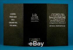 Star Wars Master Replicas Mace Windu Lightsaber Signature Edition 44 of 750