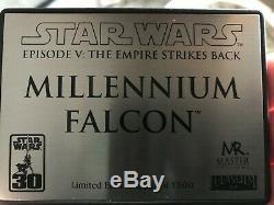 Star Wars Master Replicas Millennium Falcon Limited Edition 0054 of 1500