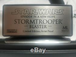 Star Wars Master Replicas Stormtrooper Blaster