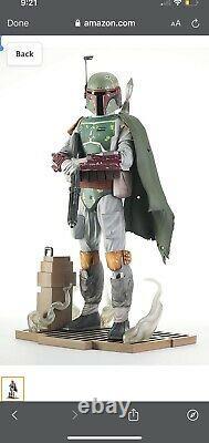 Star Wars Milestones The Return of The Jedi Boba Fett Statue, 12 in Pre Order