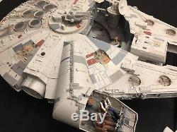 Star Wars Millennium Falcon Hasbro 2008 Legacy Collection COMPLETE