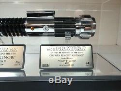 Star Wars ROTS Master Replicas Obi-Wan Kenobi Lightsaber LE Replica 11 SW-130