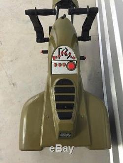 Star Wars Return of the Jedi 1983 rare prize Ride-on SPEEDER BIKE pedal car