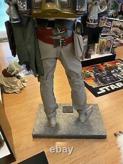 Star Wars Return of the Jedi Boba Fett Don Post Life Size LE Prop Replica #132