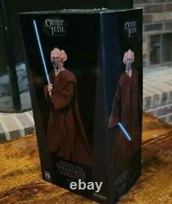 Star Wars Sideshow Collectibles PLO KOON JEDI MASTER 1/6 Scale 12 Figure 2007