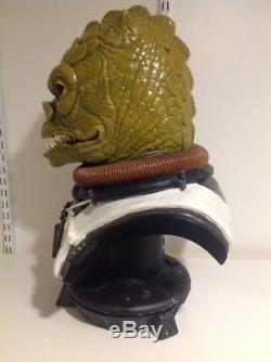 Star Wars Sideshow Life Size Bossk Bust Very Rare Statue Prop Limited Edition