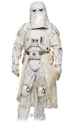 Star Wars Snow Trooper Commander Costume Armor/helmet Cosplay Life Size