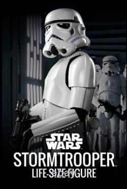 Star Wars Stormtrooper Prop Imperial Stormtroopers. LIFE-SIZE FIGURE+BLASTER