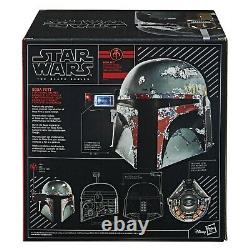 Star Wars The Black Series Boba Fett Premium Electronic Helmet by Hasbro