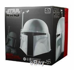Star Wars The Black Series Boba Fett Premium Electronic Prototype Helmet