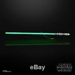 Star Wars The Black Series Force FX Lightsaber Kit Fisto eBay's International OK