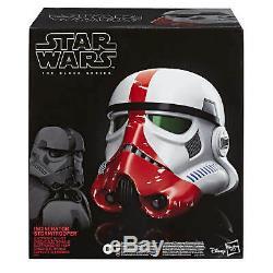 Star Wars The Black Series Incinerator Stormtrooper Helmet Brand New