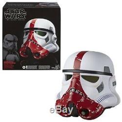Star Wars The Black Series Incinerator Stormtrooper Helmet Now In Stock