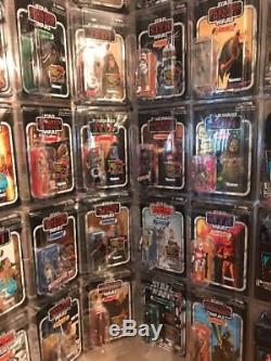 Star Wars The Vintage Collection VOTC NEAR COMPLETE LOT 143 figs VC NEW In CASES
