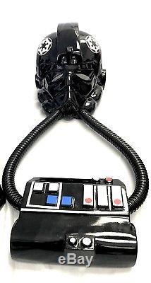 Star Wars Tie Fighter Helmet, Armor, Chest Box set Complete Helmet Prop