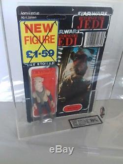 Star Wars Tri-logo Yak Face Moc Vintage Sealed Figure Ukg Not Afa Graded