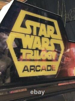 Star Wars Trilogy Deluxe Sit Down Arcade Game
