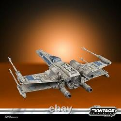Star Wars Vintage Collection 3.75 Rogue One Antoc Merrick X-Wing Fighter Target