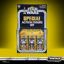 Star Wars Vintage Collection 501st Legion Arc Troopers 3 Pack SDCC IN STOCK USA