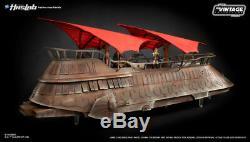 Star Wars Vintage Collection Jabba's Sail Barge Khetanna+30 Figs+YakFace+Book