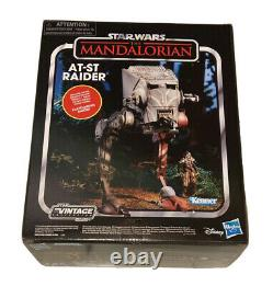 Star Wars Vintage Collection Mandalorian AT-ST with Klatooinian Raider Kenner