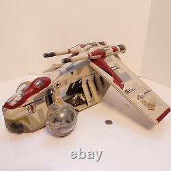 Star Wars Vintage Collection Republic Gunship Toys R Us Exclusive with Figures