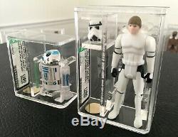 Star Wars Vintage POTF AFA U90 Complete Set Last 17 Incredible Collection