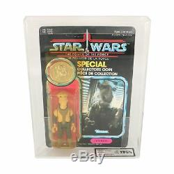 Star Wars Vintage Yak Face Power of the Force / POTF MOC (UKG / AFA 85)