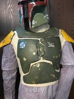 Star wars Boba Fett wearable armor Flak vest M-XL