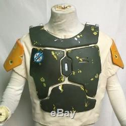 Star wars ESB / ROTJ Boba Fett costume 10 piece armor