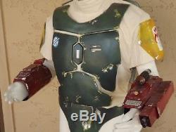 Star wars ROTJ Boba Fett prop armor costume gauntlets