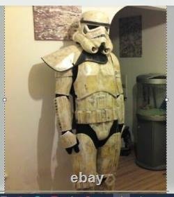 Star wars Sandtrooper ARMOUR with HELMET Full Size costume for trooping