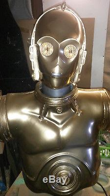 Star wars life size C3p0 bust not sideshow