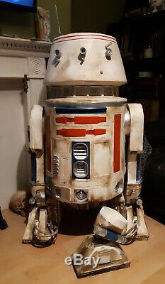 Star wars life size R5D4 prop static statue 11 r2d2 c3p0 vader
