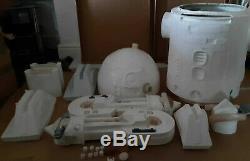 Star wars life size r2d2 prop fiberglass 11