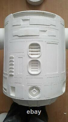 Star wars life size r2d2 prop fiberglass 11 reject straight from the mould