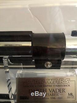 Star wars master replicas darth vader lightsaber