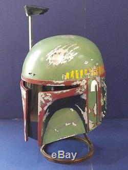 Star wars prop ESB Boba Fett wearable helmet