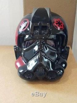 Star wars prop Tie Pilot imperial inferno squad helmet