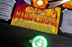 Stern Star Wars Mandalorian Premium Pinball Machine Ships Late June