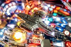 Stern Star Wars Mandalorian Pro Pinball Machine Free Shipping Ships June