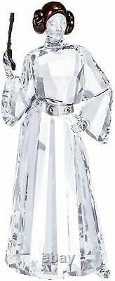 Swarovski Star Wars Disney Princess Leia Rebel Alliance Crystal Figurine 5472787