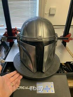 The Mandalorian Helmet Resin Casting Painted